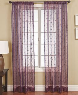 Softline Fantasia 55 x 84 Panel   Sheer Curtains   For The Home