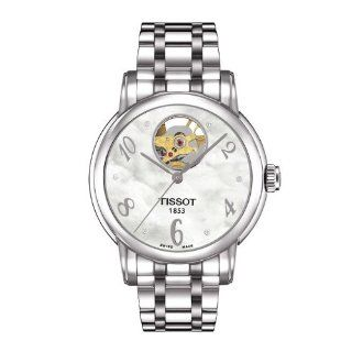 Tissot lady heart automatic watch T050.207.11.116.00: Watches