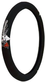 Custom Accessories 35810 Black with Soft Touch RockStar Guitar Steering Wheel Cover Automotive