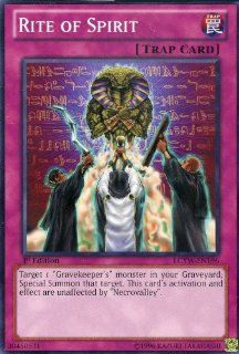 Yu Gi Oh   Rite of Spirit (LCYW EN196)   Legendary Collection 3 Yugi's World   Limited Edition   Common Toys & Games