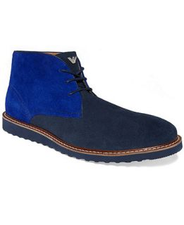 Armani Jeans Suede Chukka Boots   Shoes   Men