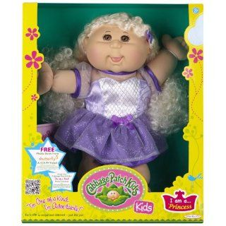 Cabbage Patch Kids Doll   Princess, Caucasian Girl, Blond Hair Toys & Games