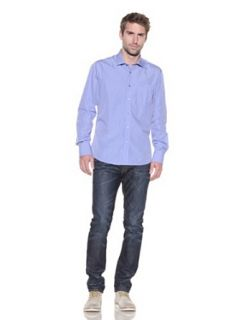 """191 Unlimited """"Wise Guy"""" Solid Blue Dress Shirt at  Men�s Clothing store"""