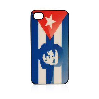 Cuban Flag with Ernesto Che Guevara Revolution iPhone 5 Case Custom Bumper Sides Black: Cell Phones & Accessories