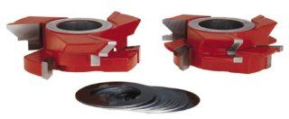 Freud UP191 V Paneling Shaper Cutter Set, 1 1/4 Bore