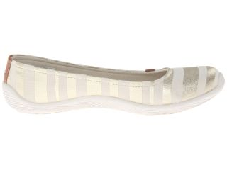 Dr. Scholls Joliet Cream New Striped Fabric