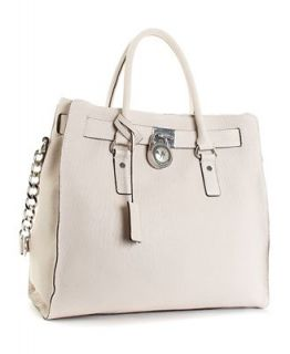 MICHAEL Michael Kors Large Hamilton Chain Tote with Silver Hardware   Handbags & Accessories