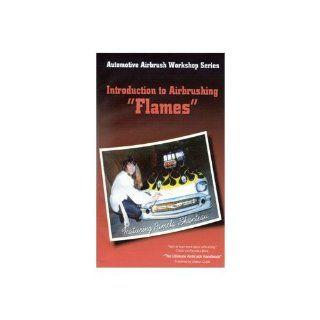 Dvd: Intro To Airbrushing Flames /P. Shanteau