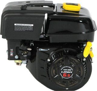 Lifan LF 168F 2BDQ 6 1/2 HP 196cc 4 Stroke OHV Industrial Grade Gas Engine with Eletric Start and Universal Mounting Pattern : Two Stroke Power Tool Engines : Patio, Lawn & Garden