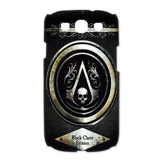 Custom Assassins Creed iv Black Flag 3D Cover Case for Samsung Galaxy S3 III i9300 LSM 168: Cell Phones & Accessories