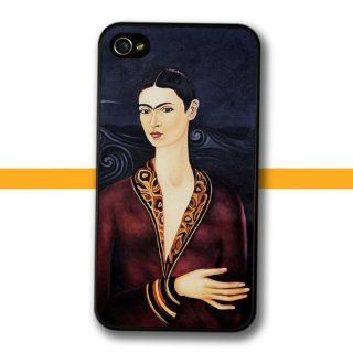 Frida Kahlo's Self Portrait in a Velvet Dress painting iPhone 4 4s Case (159I): Cell Phones & Accessories
