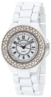 BONGO Women's BG147 White Bracelet Watch: Watches