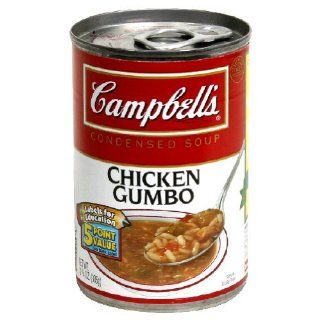 Campbells, Soup Chkn Gumbo Red White, 10.75 Ounce (12 Pack) Health & Personal Care