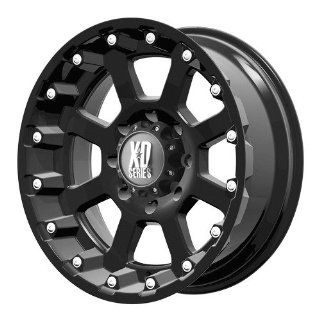 17x9 KMC XD Strike (Matte Black) Wheels/Rims 6x139.7 (XD80779068724N): Automotive