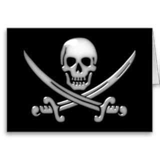Pirate Skull & Sword Crossbones (TLAPD) Cards