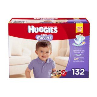 Huggies Little Movers Diapers, Size 5, 132 Count Health & Personal Care