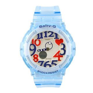 Casio Women's BGA131 2B Baby G Marine Resort Clear Blue Digital Watch: Casio: Watches