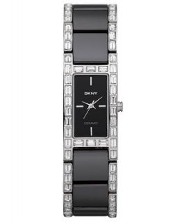 DKNY Watch, Womens Black Ceramic and Stainless Steel Bracelet NY8409   Watches   Jewelry & Watches