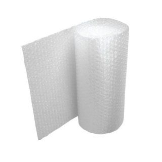 The Packaging Wholesalers 1/2 x 48 Inches x 125 Feet Retail Length Large Bubble (1 Roll/Bundle) (CBWUP1248) : Bubble Wrap : Office Products