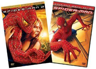 Spider Man / Spider Man 2 (Widescreen Special Editions): Tobey Maguire, Kirsten Dunst, Alfred Molina, Willem Dafoe, James Franco, Cliff Robertson, Rosemary Harris, J.K. Simmons, Joe Manganiello, Gerry Becker, Bill Nunn, Jack Betts, Sam Raimi, Alfred Gough,