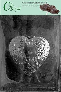 Cybrtrayd V117 Heart for No.420 Box Valentine Chocolate Candy Mold Candy Making Molds Kitchen & Dining