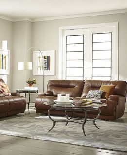 Ricardo Leather Sofa Living Room Furniture Collection, Power Reclining   Furniture