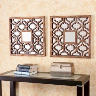 Southern Enterprises Decorative Wall Mirror   Brown