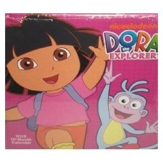 Dora the Explorer 2012, 16 Month Calendar  Wall Calendars