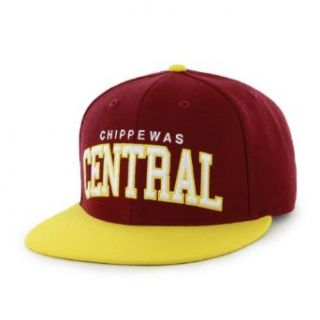 Central Michigan Chippewas Flatbrim Snapback Wool Hat by '47 Brand at  Men�s Clothing store