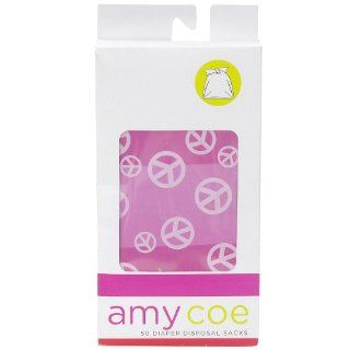 amy coe 50 Count Disposable Diaper Sacks   Monkey: Health & Personal Care