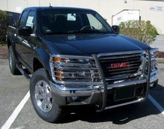 Gmc Canyon 04 2010 Gmc Canyon One Piece Grill/Brush Guard Stainless Grille Guards & Bull Bars Stainless Products Performance Automotive