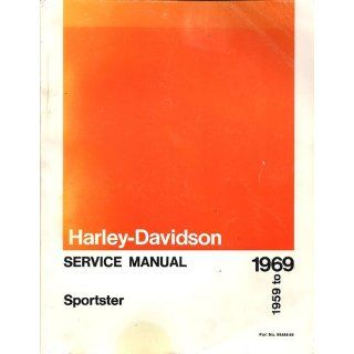 Harley Davidson Service Manual SPORTSTER 1959 to 1969 Part no 99484 69: Harley Davidson Motor Co: Books