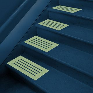 Glow in the dark Non slip Pathway Mats (pack Of 8)