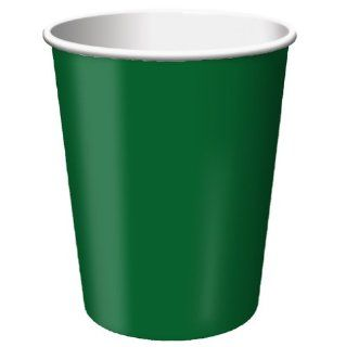 Creative Converting Paper Hot/Cold Cups, 9 Ounce., Hunter Green Color, Package Of 24,   (Pack of 5) Health & Personal Care