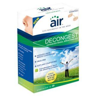 air DECONGEST   Drug Free Decongestant Nasal Bre
