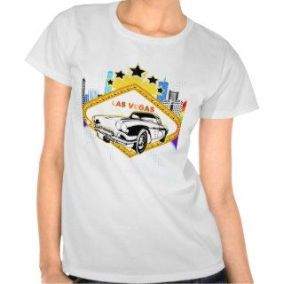 Cool Las Vegas vector T shirt