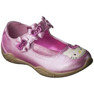 Toddler Girls Hello Kitty Mary Jane Shoe   Pink