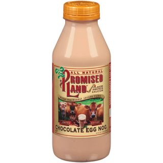 Promised Land All Natural Chocolate Egg Nog, 32 fl oz: Dairy, Eggs & Cheese