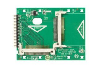 StarTech 2.5 Inch IDE to Dual Compact Flash SSD Adapter Card (CF2X2IDE25) Electronics