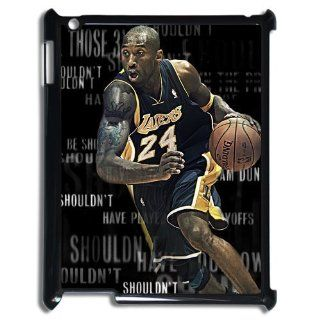 Unique Design NBA Los Angeles Lakers Superstar Kobe Bryant #24 Crossover Cover Hard Plastic Ipad 1/2/3/4 Case: Cell Phones & Accessories