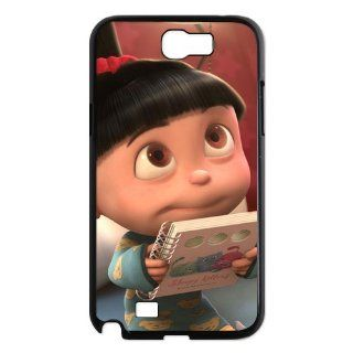 Best Design Cute Cartoon Despicable Me Agnes SamSung Galaxy Note 2 N7100 Case   Despicable Me Samsung Hard Plastic Case at sosweetycats store: Computers & Accessories