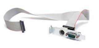 Dell T4444 I/O Serial Panel, Serial Connection & PS/2 Connection With Cable, Compatible Part Number Y9001, Half Length Low Profile Computers & Accessories