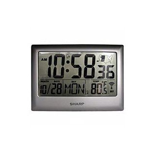 Sharp Atomic Clock with Jumbo Numbers   Wall Clocks
