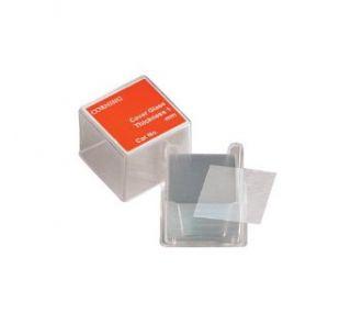 Corning 2855 22 Borosilicate Glass Square #2 Cover Glass, 22mm L x 22mm W (Case of 1000): Science Lab Microscope Accessories: Industrial & Scientific