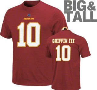 Washington Redskins NFL Robert Griffin III #10 Name And Number T Shirt 3XL  Sports & Outdoors
