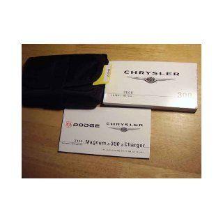 2008 Chrysler 300 Owners Manual Chrysler Books
