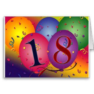 Happy 18th Birthday! Card