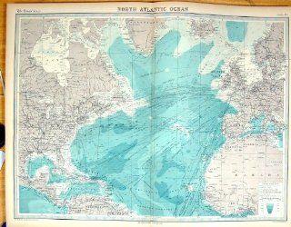 Zeiten Antike Nord Britische Inseln Gr�nland Atlantiks Kanada Karten 1922: Küche & Haushalt