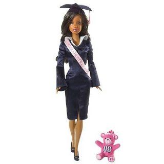 Graduation 2008 Barbie Doll (African American) Toys & Games