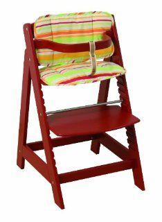 Roba 7562 rot C5 Treppenhochstuhl SIT UP III rot, inklusiv Sitzverkleinerer: Baby